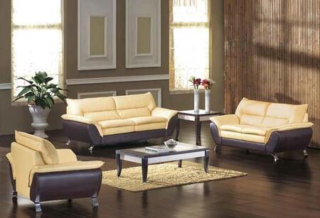 VIG Furniture VGDM2819 Modern Bonded Leather Living Room Set