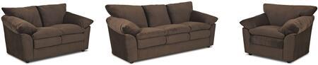 Klaussner OE13KL3PCSTLARMKIT1 Heights Living Room Sets