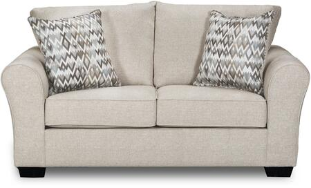 Simmons Upholstery 165702bostonlinen Boston Series Fabric Stationary
