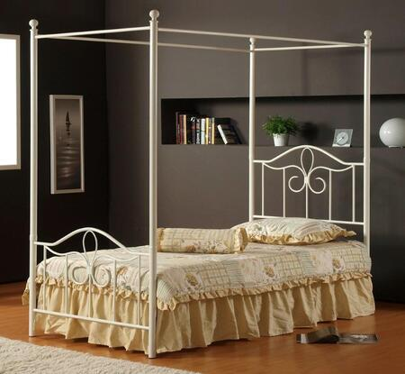 Hillsdale Furniture 1354BFP Westfield Series  Full Size Canopy Bed