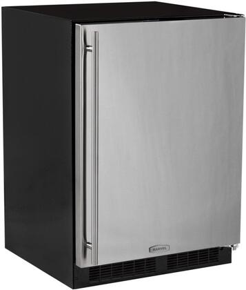 "Marvel ML24RIS3RW 24""  Compact Refrigerator with 4.9 cu.ft. Capacity in White"