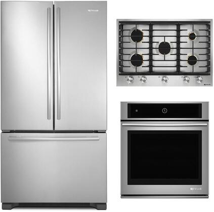 Jenn Air 988431 3 Piece Stainless Steel Kitchen Appliances Package