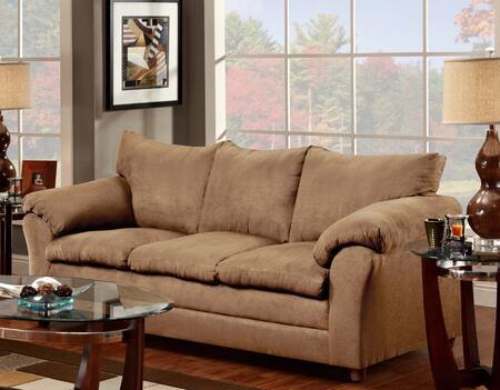 Chelsea Home Furniture 471150SVLT Gail Series Stationary Polyester Sofa