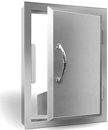 RCS ADV Agape Stainless Steel Reversible Vertical Door