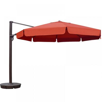 Island Umbrella NU67V Victoria 13-ft Octagon Cantilever w/ Valance in