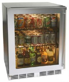 Perlick HC24RB3LDontUse Commercial Series  Compact Refrigerator with 4.9 cu. ft. Capacity