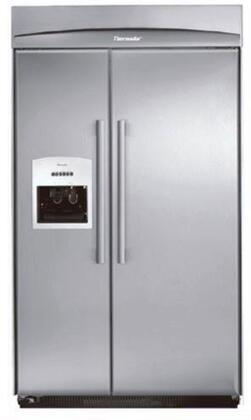 Thermador KBUDT4265E Built In Side by Side Refrigerator