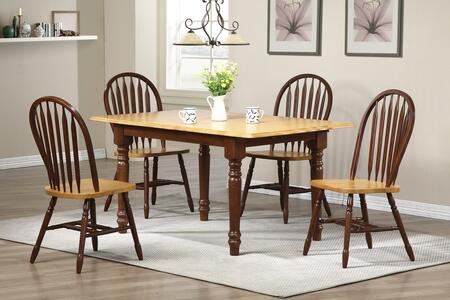 Sunset Trading DLUTLB3660820NLO5PC Sunset Selections Dining
