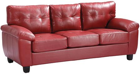Glory Furniture G909AS  Stationary Faux Leather Sofa