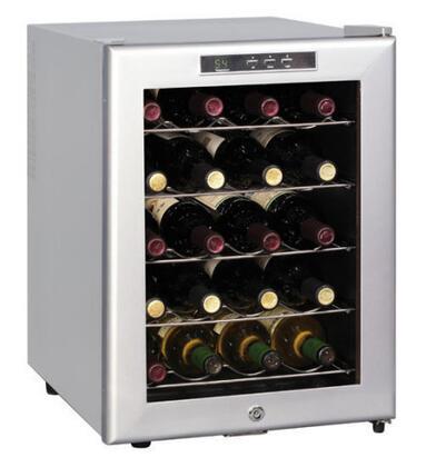 "Sunpentown WC20SD 15.75"" Freestanding Wine Cooler, in Platinum"