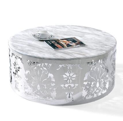 VIG Furniture VGLECF132 White Modern Table