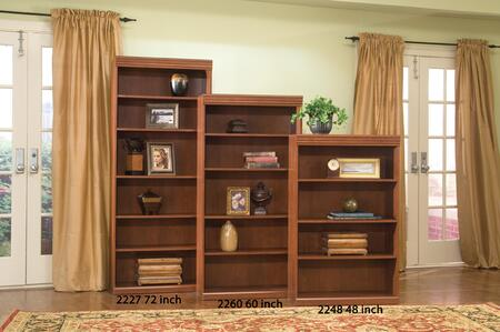 Harden 2248 Wood 4 Shelves Bookcase