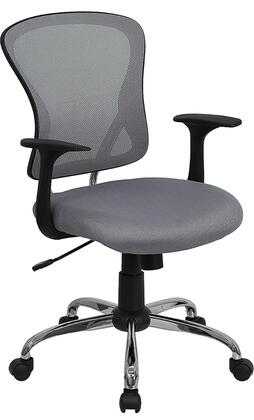 "Flash Furniture H8369FGYGG 22.25"" Contemporary Office Chair"