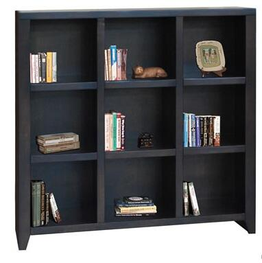Legends Furniture UL6203MOC Urban Loft Series Wood 3 Shelves Bookcase