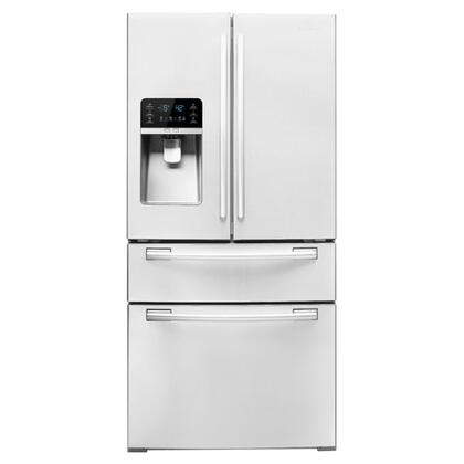 Samsung Appliance RF4267HAWP  French Door Refrigerator with 25.5 cu. ft. Total Capacity 5 Glass Shelves