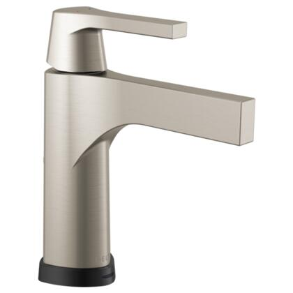 Zura  574T-SS-DST Delta Zura: Single Handle Centerset Lavatory Faucet with Touch2O.xt Technology in Stainless