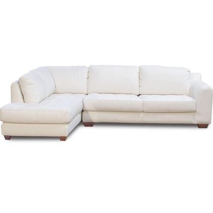 Diamond Sofa ZENLF2PCSECTW  Sofa