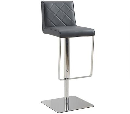 Casabianca CB922GRBAR Loft Series Residential Faux Leather Upholstered Bar Stool
