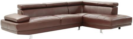 Glory Furniture G457SC Milan Series Stationary Faux Leather Sofa