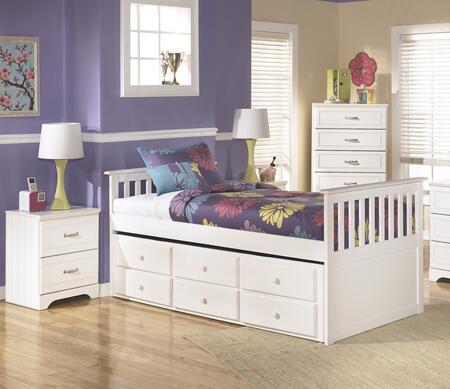 Milo Italia BR174TTBBEDROOMSET Dayanara Twin Bedroom Sets