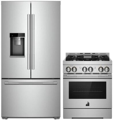 Jenn Air 1049069 2 Piece Stainless Steel Kitchen Appliances Package