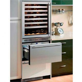 "Marvel 66SWDEBDR 24.13"" Built-In Wine Cooler"