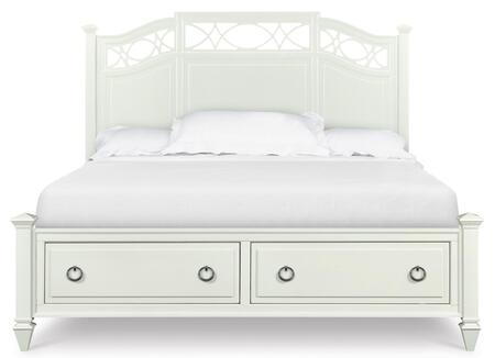 Magnussen B202957K2 Morgan Series  Queen Size Storage Bed
