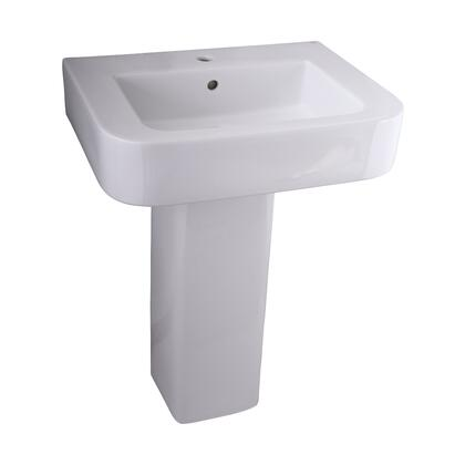 Barclay 3882WH White Bath Sink