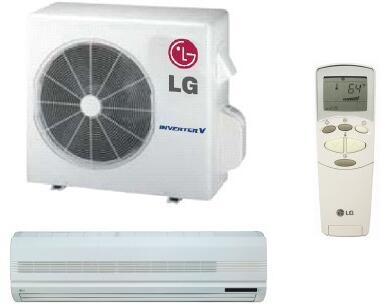 LG LS307HV2 Mini Split Air Conditioner Cooling Area,