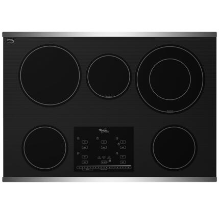 """Whirlpool G9CE3065XS 30"""" Gold Series Electric Cooktop"""