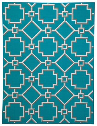 """Milo Italia Shane RG377611TM R2 80.4"""" x 60"""" Medium Size Rug with Nylon Material, Machine-Tufted, Made in Egypt, Spot Clean Only and Backed with Canvas in Color"""