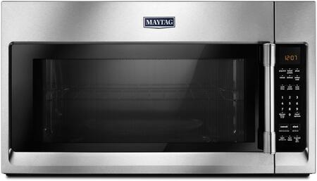 Maytag MMV4206Fx Over The Range Microwave with 2.0 Capacity and Interior Rack, in