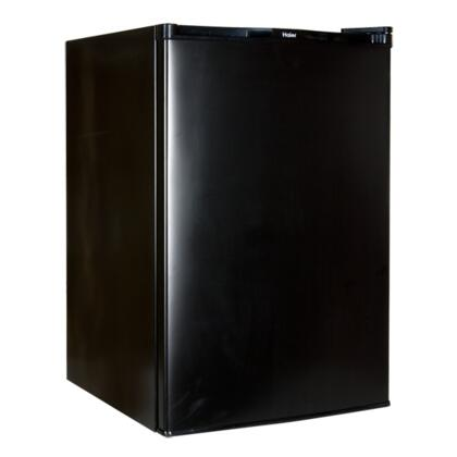 Haier HNSE045BB HNSE045 Series Freestanding Compact Refrigerator with 4.5 cu. ft. Capacity,  Field Reversible Doors