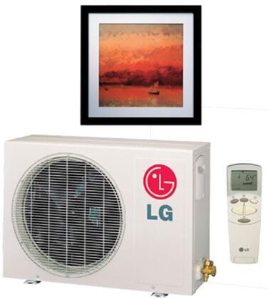 LG LAU126HNP Air Conditioner Cooling Area,