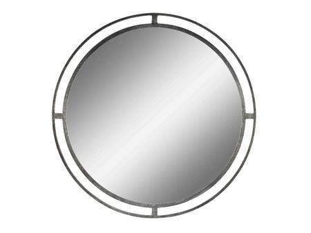 Stein World 108061 Verona Series Round Portrait Wall Mirror