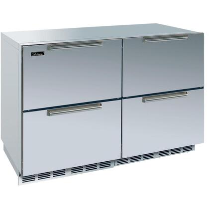Perlick HP48RRS55DNU Signature Series Counter Depth All Refrigerator with 12.3 cu. ft. Capacity