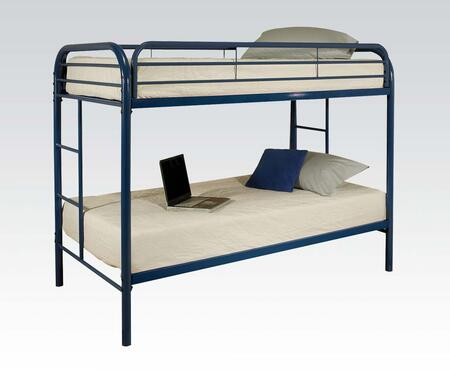 Acme Furniture 02188BU Thomas Series  Twin Size Bunk Bed