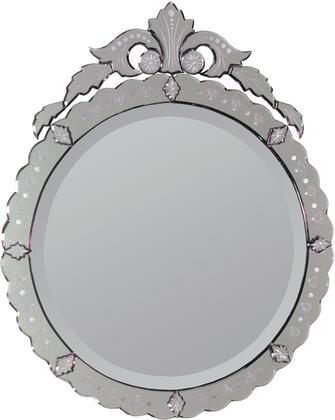 Ren-Wil MT428  Round Portrait Wall Mirror
