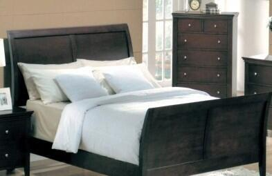 Yuan Tai MN4040K Montgomery Series  King Size Sleigh Bed