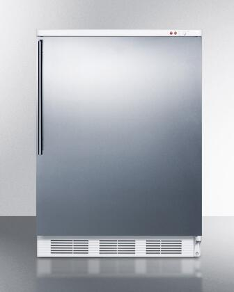 "Summit VT65M7BISSHV 24""  Freezer with 3.5 cu. ft. Capacity in Stainless Steel"