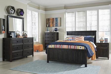 Milo Italia BR5815PCFP6DDLM1DN5DCKIT1 Alvarez Full Bedroom S