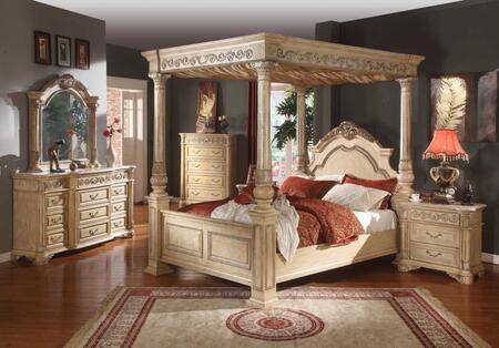 Meridian SIENNAPANELQSET Sienna Queen Bedroom Sets