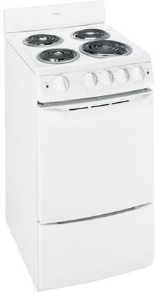 "Hotpoint RA720KWH 20"" Electric Freestanding"