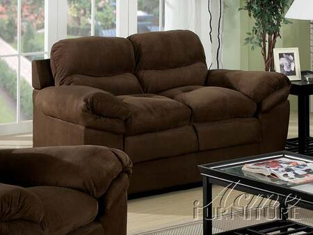 Acme Furniture 15146 Standford Series Microfiber  with Wood Frame Loveseat