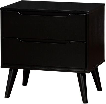 Furniture of America CM7386BKN Lennart II Series  Night Stand