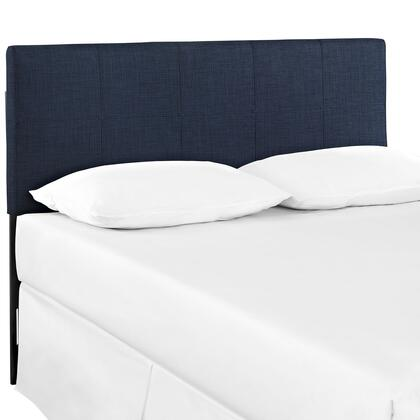 Modway MOD-5152-XXX Quad Twin Size Headboard with Ten Squares Design, Fiberboard and Plywood Frame, and Fine Polyester Upholstery