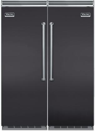 Viking 734296 5 Side-By-Side Refrigerators