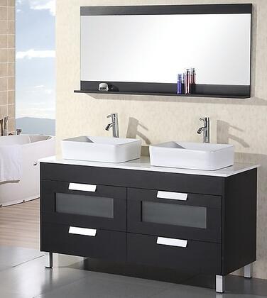 Design Element DEC019 Double Vanity Sink