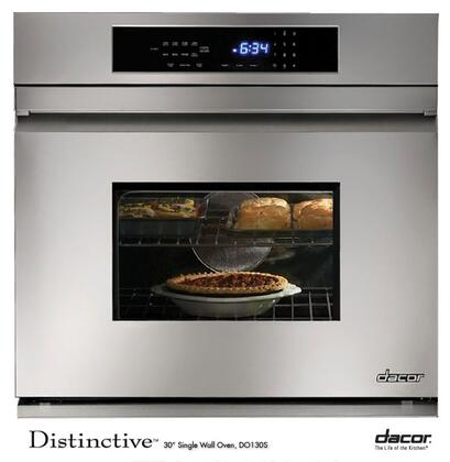 """Dacor DO130S Single Electric Touch Sensor 30"""" Yes Wall Oven  Appliances Connection"""