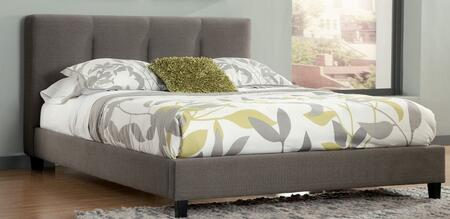 Milo Italia BR7846568 Bartlett Series  Queen Size Upholstered Bed